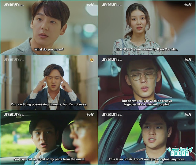 jin o told se joo he don't want to be a ghost anymore -  Chicago Typewriter: Episode 10 korean drama