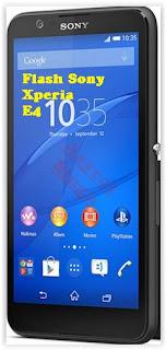 Upgrade or Flash Sony Xperia E4 (E2104, E2105, E2115 Dual, E2124 Dual) Using XperiFirm And Flashtool.