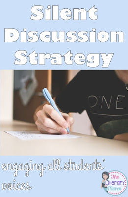 Silent Discussion Strategy: Engaging All Students' Voices - The Literary Maven