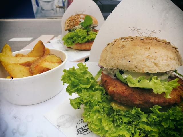 Krowarzywa, Vegan Burger