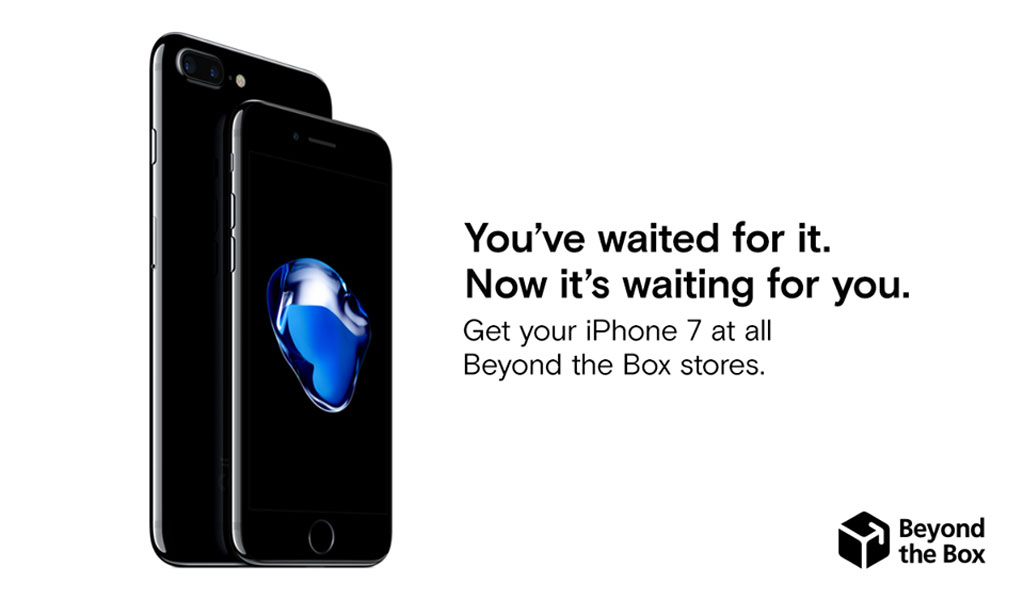 Apple iPhone 7 at Beyond the Box