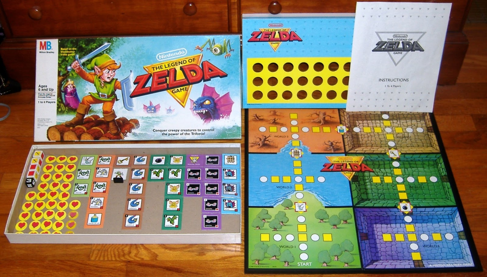 Juego De Mesa De La Leyenda De Zelda La Guarida Geek