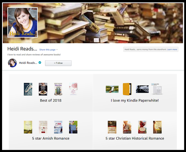 Heidi Reads   : Survey & Giveaway: My Amazon Storefront and