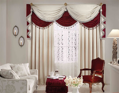 beautiful double window curtains for windows next to each other in living room