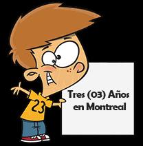 ¡Tercer aniversario en Montreal!