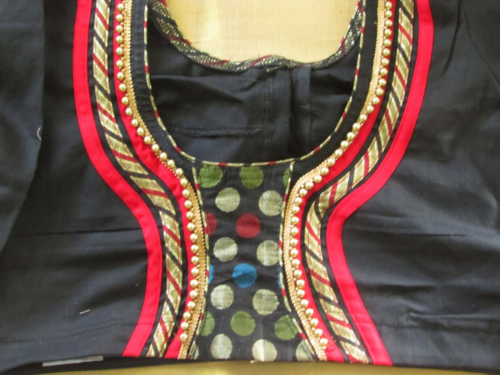 Ggr Fashion Blouse Neck Designs