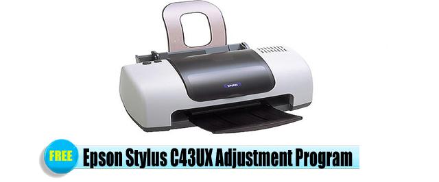 Epson Stylus C43UX Adjustment Program
