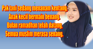 Kumpulan Pantun Menyambut Bulan Ramadhan 1440 H 2019