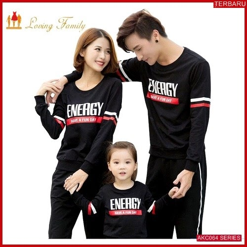 AKC064S104 Sweater Couple Energy Anak 064S104 Keluarga BMGShop