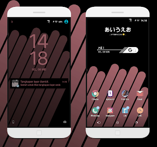 Black Brown Theme, Tema Sony Xperia free