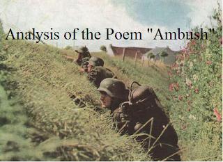 Analysis of the Poem Ambush