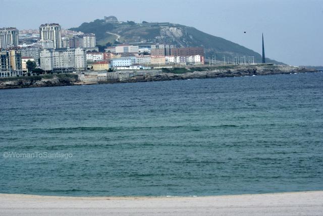 playa-riazor-camino-de-santiago-ingles-coruna