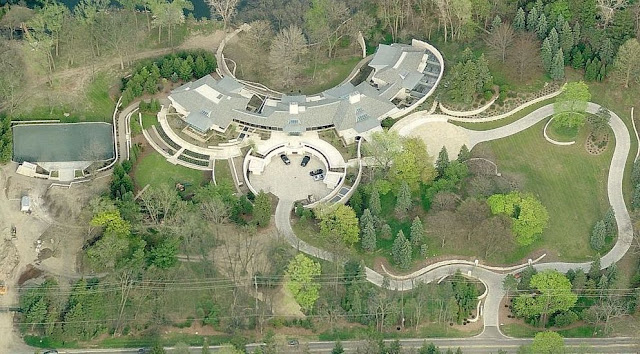 House of the Late Detroit Pistons Billionaire Owner William Davidson.