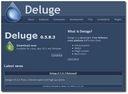 how to download torrents faster deluge