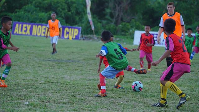 Pantau Pemain Muda Berbakat, Coaching Clinic Alex Noerdin Cup 2019 di Gelar