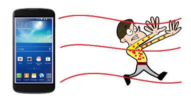 Harmful effects of mobile phones on human health
