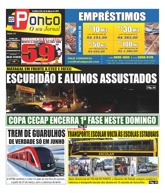 Jornal Folha do Ponto - Edição 433