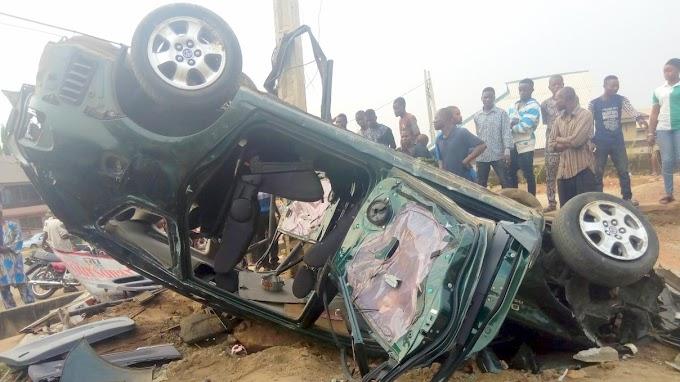 Drunk driver kills four worshippers in Abeokuta, Ogun State