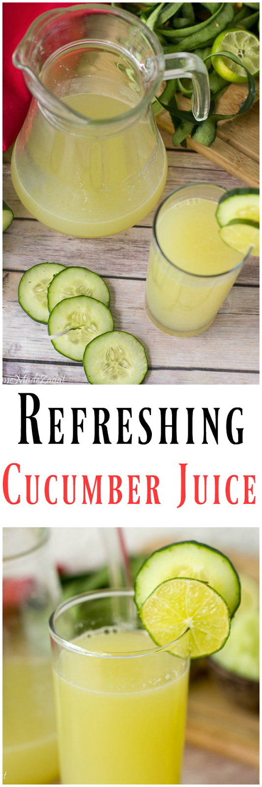 How to Make Cucumber Juice photo