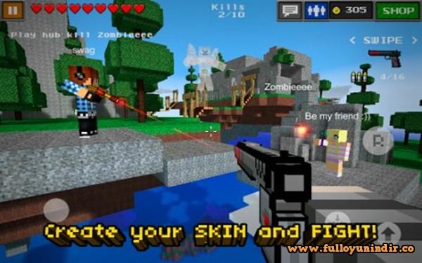 Pixel Gun 3D Apk indir