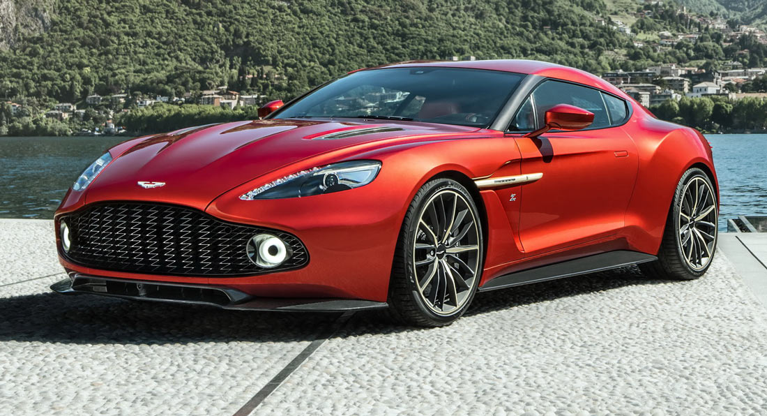 Aston Martin S New Limited Production Vanquish Zagato Coupe