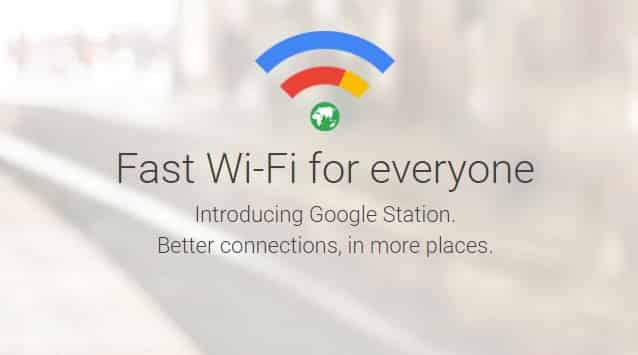 Internet gratis dari google station