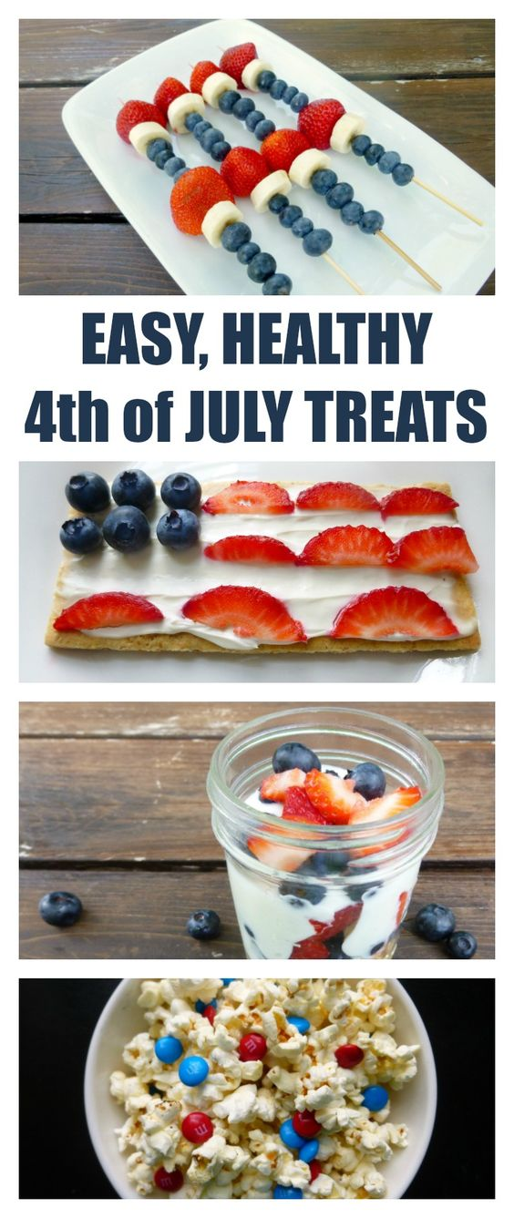 6 Recipes for Healthy Fourth of July Treats