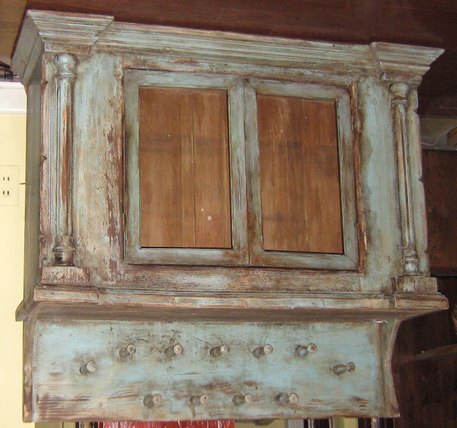 lynda bergman decorative artisan painting new doors to match a very old distressed cabinet. Black Bedroom Furniture Sets. Home Design Ideas