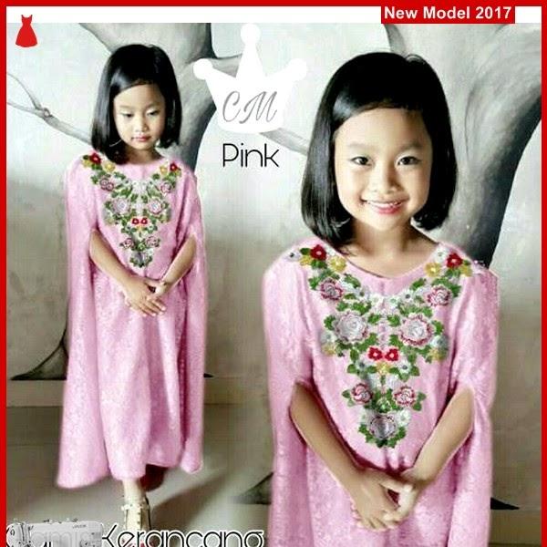 MSF0191 Model Gamis Kerancang Murah Bunga Kid BMG