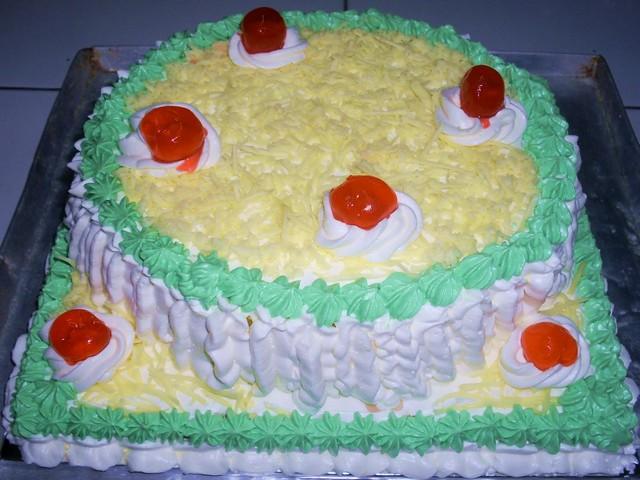 cara menghias kue tart