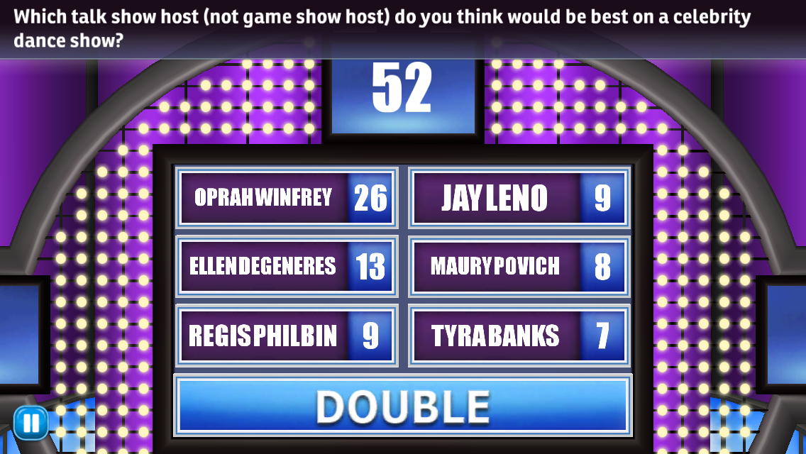 Family Feud and Friends Game Answers Revealed!: Which talk show host ...