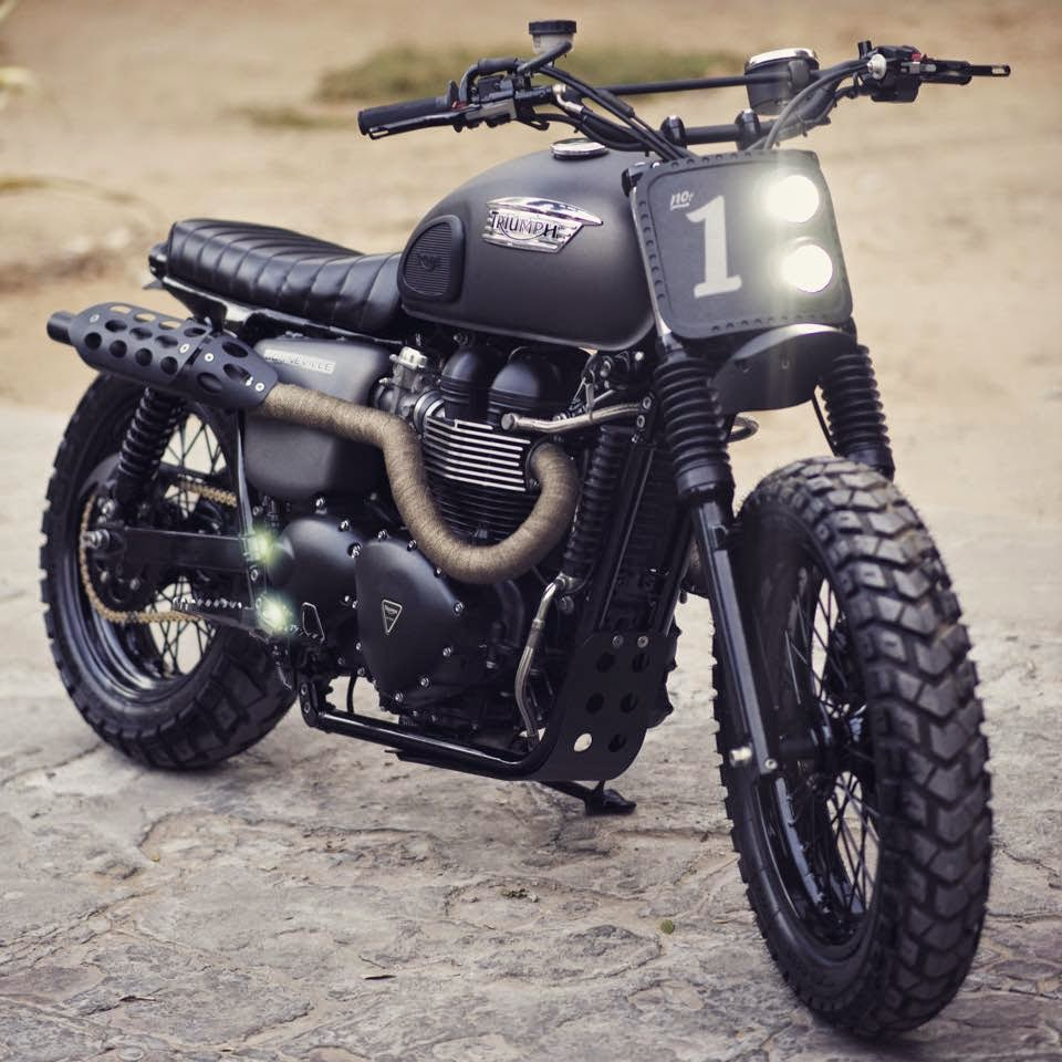 triumph bonneville scrambler rocketgarage cafe racer. Black Bedroom Furniture Sets. Home Design Ideas