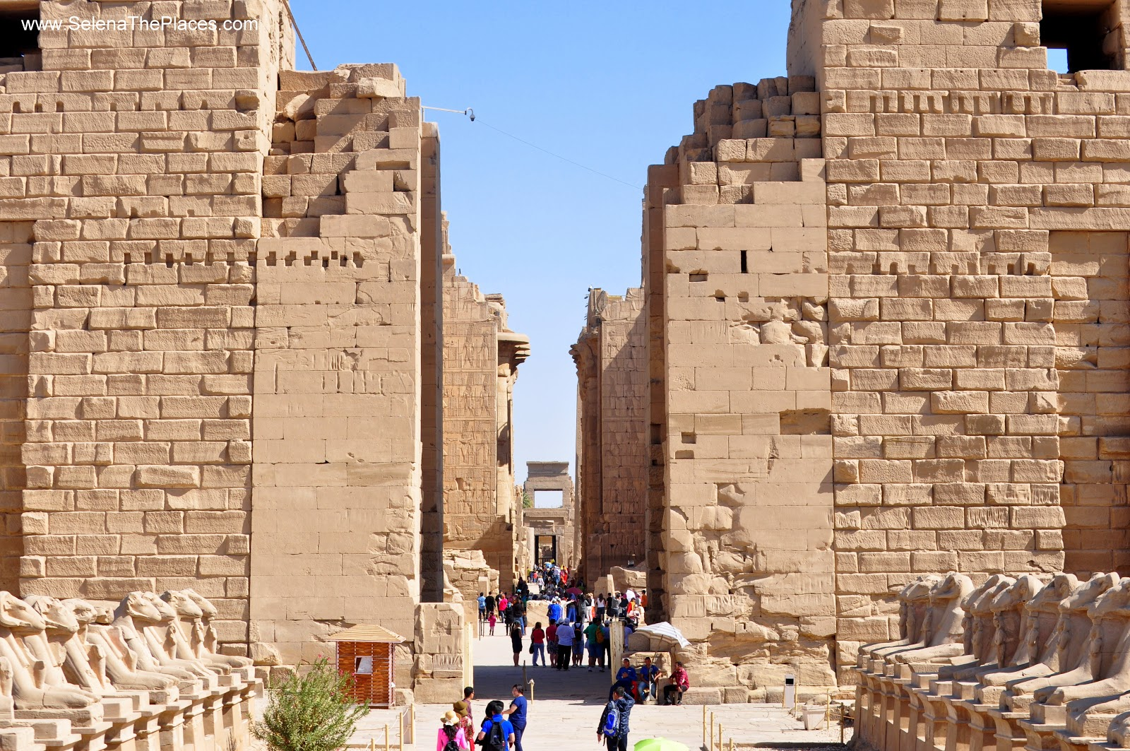 The Temple of Karnak in Luxor, Egypt