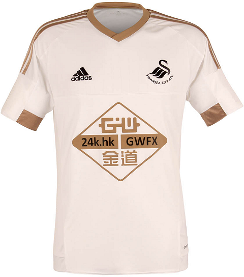 Adidas lança as novas camisas do Swansea City - Show de Camisas 0e12e0c9c8893