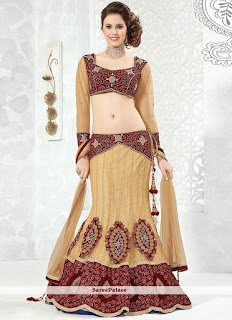 Indian-stylish-crepe-lehenga-silk-sarees-to-keep-you-fashionable-5