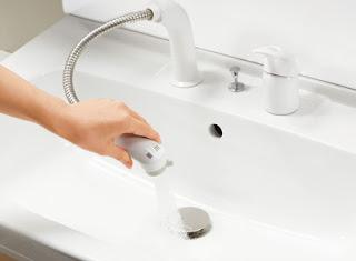 LIXIL 洗面台 オフト ホース収納式