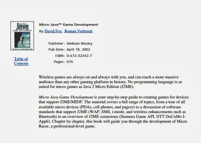 Micro JAVA Game Development pdf