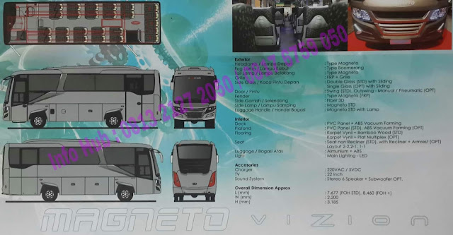 jual mobil medium bus mitsubishi 2019, medium bus mitsubishi 2019