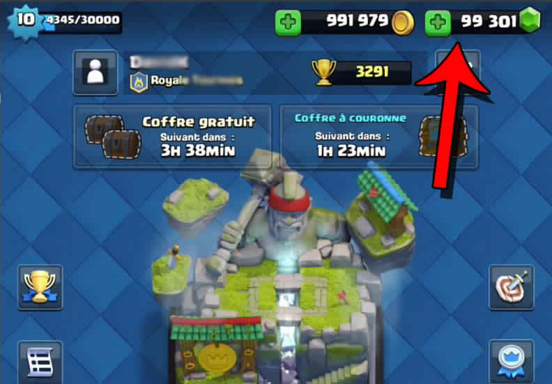 Clash Royale Hack and Cheats Gems