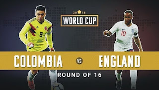 مشاهدة مباراة انجلترا وكولومبيا England vs Colombia live بث مباشر اليوم 3-7-2018 كأس العالم