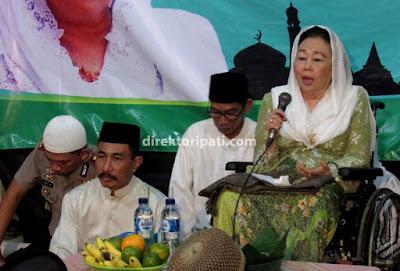 Istri Gus Dur Sinta Nuriyah