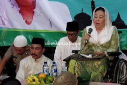 Alasan Istri Gus Dur Sinta Nuriyah Sahur Bareng di Desa Prawoto Pati