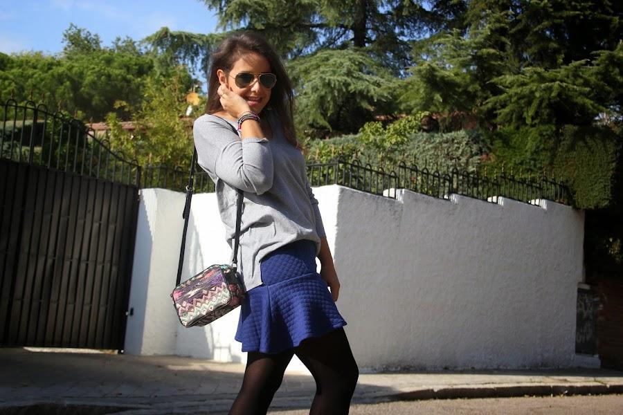 DIY Costura: Cómo hacer falda de punto con volante (patrón gratis)