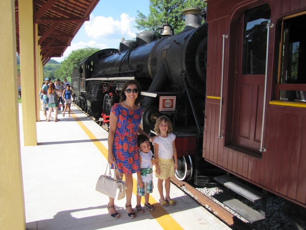 passeio de trem em Guararema