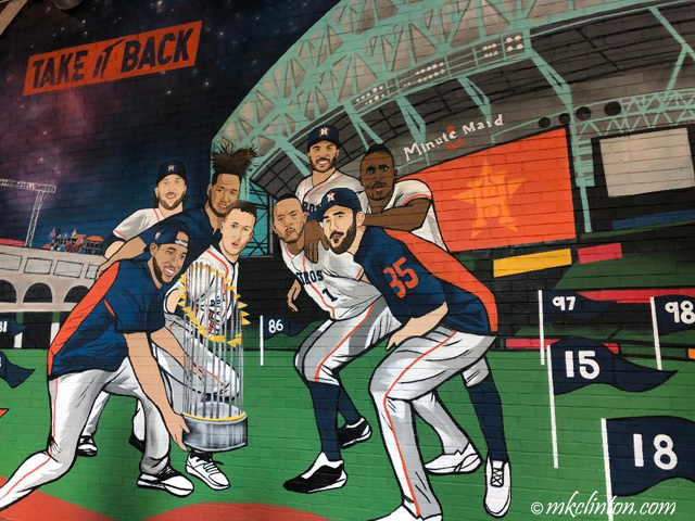 Houston Astros mural