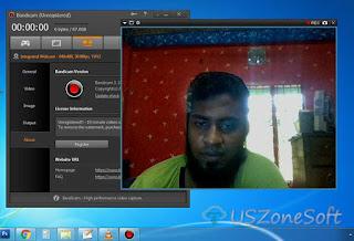 Bandicam Webcam Image Capture and Video Recorder