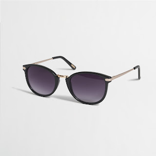 J. Crew Factory Mixed-Media Sunglasses $10 (reg $30)