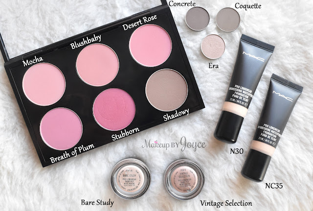 MAC Haul Blush Eyeshadow Paint Pot Pro LongWear Nourishing Waterproof Foundation Review