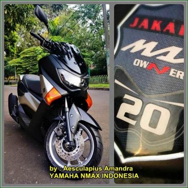 Ubahan Tampak Depan Cara Modifikasi Yamaha Nmax Hitam Doff Tampak Kekar Dan Sangar Terbaru Keren banget