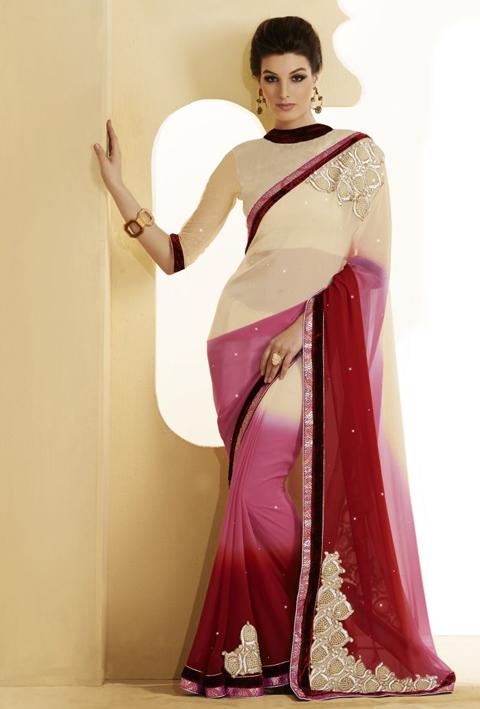 pakaian tradisional kaum india perempuan